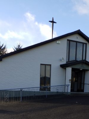 Exterior of St. Patrick's Church, Drumkeen.